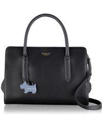 Radley Black Medium Leather 'liverpool Street Multiway Grab Bag