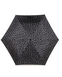 Radley London Mini Telescopic Umbrella - Black