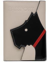 Radley Face To Face Passport Cover - Grey