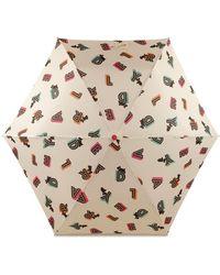 Radley London Lights Umbrella - Metallic