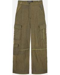 RÆBURN Parasuit Trouser (w) Olive - Green