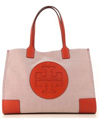 108d0e1feced Lyst - Tory Burch Small Nylon Drawstring Tote in Red
