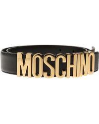 Moschino - Ceinture Femme - Lyst 6bfef4524c1