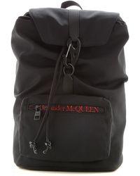 Alexander McQueen Backpack For Men - Black