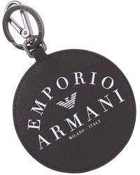 Emporio Armani Key Chain - Black