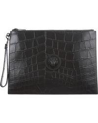 Versace Bags For Men - Black