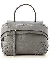 Tod's - Top Handle Handbag - Lyst