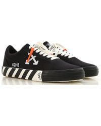 5dff81654 Lyst - Off-White C O Virgil Abloh 2018 Vulc Low-top Sneakers White ...