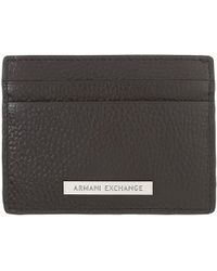 Armani Jeans - Card Holder For Men - Lyst
