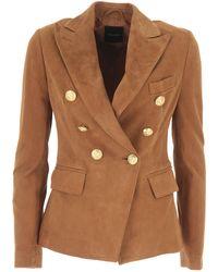 Tagliatore Blazer For Women - Brown