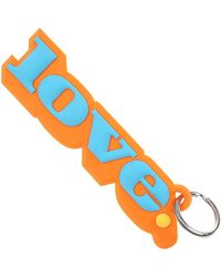Marc Jacobs Key Chain For Women - Orange