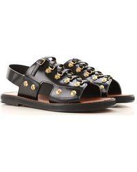 Dior Sandalias de Mujer Baratos en Rebajas Outlet - Negro