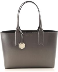 789663ae9684 Lyst - Emporio Armani Women s East West Tote Bag in Natural