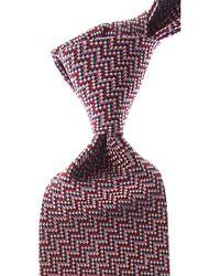 Missoni Cravates Pas cher en Soldes - Rouge