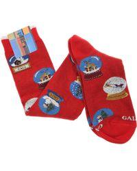 Gallo Socks For Men - Red