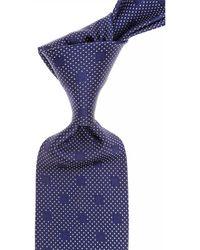 Versace Krawatten Günstig im Sale - Blau