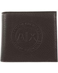Armani Exchange Wallet For Men On Sale - Black