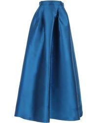 Alberta Ferretti Gonna Donna In Saldo - Blu