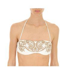 4ecdf238fc1d9 Zimmermann. Allia Ladder Cut Out Bikini. $290. MATCHESFASHION.COM. Twin Set  - Beachwear On Sale - Lyst