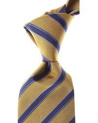 Versace Cravates Pas cher en Soldes - Bleu