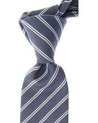 Dior Cravates Pas cher en Soldes - Bleu