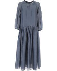 Max Mara Vestido de Mujer - Azul