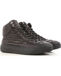 Jimmy Choo Sneaker Homme Pas cher en Soldes Outlet - Noir