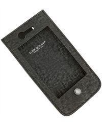 Dolce & Gabbana IPhone Cases Pas cher en Soldes Outlet - Noir