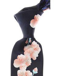 Leonard Krawatten Günstig im Sale - Blau