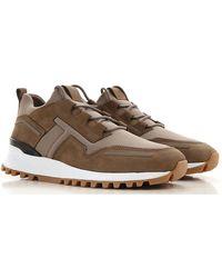 Tod's Sneakers For Men - Brown