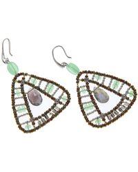 Ziio Earrings For Women - Green