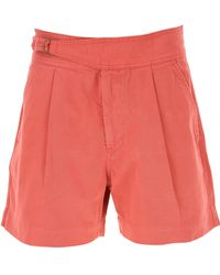 Ralph Lauren Shorts For Women On Sale - Red