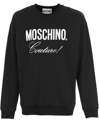 Moschino - Sweat Homme Pas cher en Soldes - Lyst