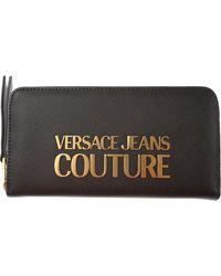 Versace Jeans Couture Porte-monnaie Femme - Noir