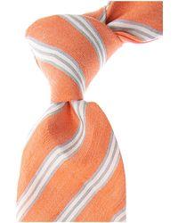 Kiton Ties - Orange