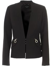 Guess Blazer For Women - Black