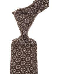 Gucci Corbatas Baratos en Rebajas - Marrón