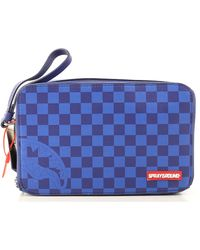 Sprayground Toiletry Bag For Men - Blue