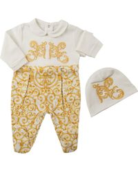 Versace Baby Sets For Girls On Sale - White
