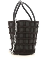 Alexander Wang Borsa Shopper da Donna In Saldo - Nero