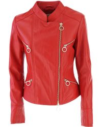 Pinko - Leather Jacket For Women On Sale In Outlet - Lyst