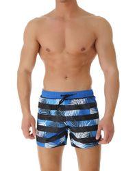 Bikkembergs Swimwear For Men - Blue
