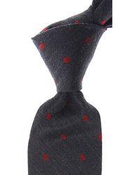 Kiton Krawatten Günstig im Sale - Grau