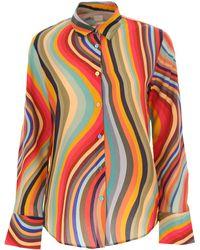 Paul Smith Camisa de Mujer - Multicolor