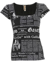 John Galliano - T-shirt For Women - Lyst