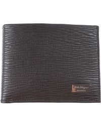 Ferragamo Wallet For Men - Black