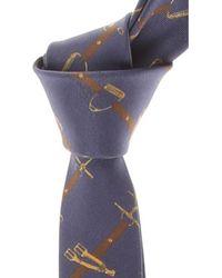 Frankie Morello Cravates Pas cher en Soldes - Bleu