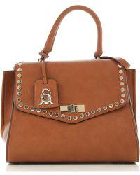 Steve Madden Top Handle Handbag On Sale In Outlet - Brown