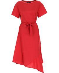 Max Mara Vestido de Mujer - Rojo