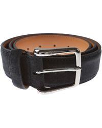 Tod's Cinturones para Hombres Baratos en Rebajas - Negro